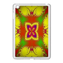Digital Color Ornament Apple iPad Mini Case (White)
