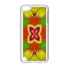 Digital Color Ornament Apple Ipod Touch 5 Case (white)
