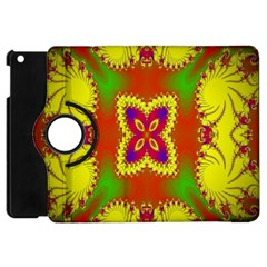 Digital Color Ornament Apple iPad Mini Flip 360 Case
