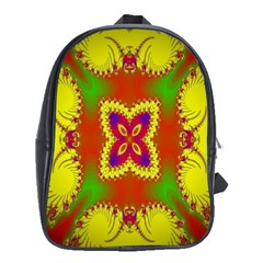Digital Color Ornament School Bags (xl)