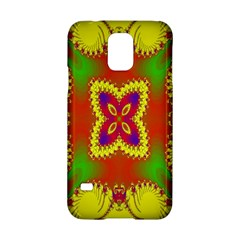 Digital Color Ornament Samsung Galaxy S5 Hardshell Case