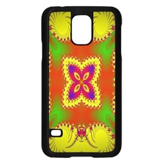 Digital Color Ornament Samsung Galaxy S5 Case (black)