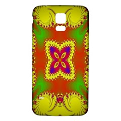 Digital Color Ornament Samsung Galaxy S5 Back Case (white)