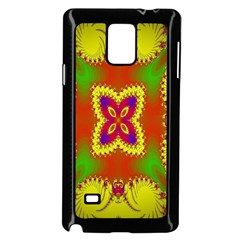 Digital Color Ornament Samsung Galaxy Note 4 Case (black)