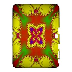 Digital Color Ornament Samsung Galaxy Tab 4 (10 1 ) Hardshell Case