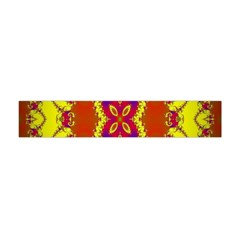 Digital Color Ornament Flano Scarf (Mini)