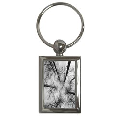 Trees Without Leaves Key Chains (rectangle)