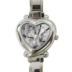 Trees Without Leaves Heart Italian Charm Watch