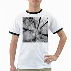 Trees Without Leaves Ringer T-Shirts