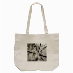 Trees Without Leaves Tote Bag (Cream)