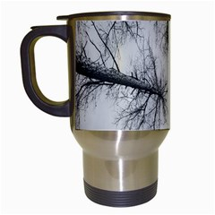Trees Without Leaves Travel Mugs (white)