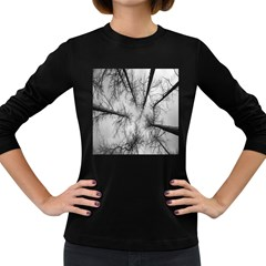 Trees Without Leaves Women s Long Sleeve Dark T-Shirts
