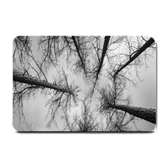 Trees Without Leaves Small Doormat