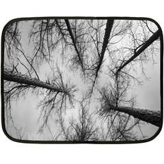 Trees Without Leaves Double Sided Fleece Blanket (Mini)