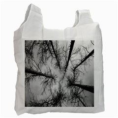 Trees Without Leaves Recycle Bag (One Side)