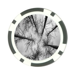 Trees Without Leaves Poker Chip Card Guard (10 Pack)