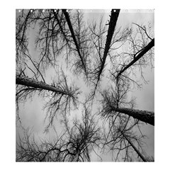Trees Without Leaves Shower Curtain 66  x 72  (Large)