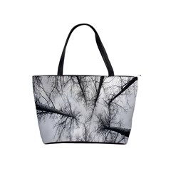 Trees Without Leaves Shoulder Handbags