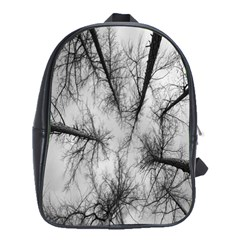 Trees Without Leaves School Bags(Large)