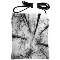 Trees Without Leaves Shoulder Sling Bags
