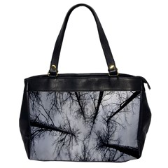 Trees Without Leaves Office Handbags