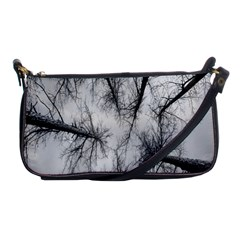 Trees Without Leaves Shoulder Clutch Bags