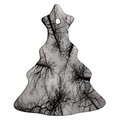 Trees Without Leaves Christmas Tree Ornament (Two Sides)