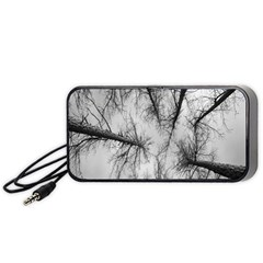 Trees Without Leaves Portable Speaker (black)