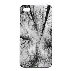 Trees Without Leaves Apple Iphone 4/4s Seamless Case (black)
