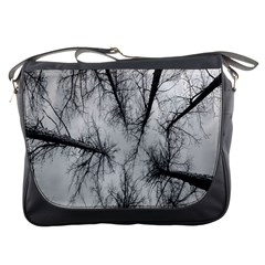 Trees Without Leaves Messenger Bags