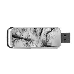 Trees Without Leaves Portable Usb Flash (one Side)