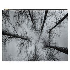 Trees Without Leaves Cosmetic Bag (XXXL)