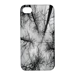 Trees Without Leaves Apple Iphone 4/4s Hardshell Case With Stand
