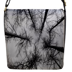 Trees Without Leaves Flap Messenger Bag (S)
