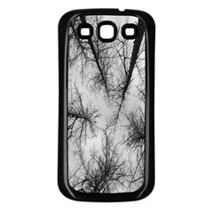 Trees Without Leaves Samsung Galaxy S3 Back Case (Black)