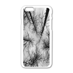 Trees Without Leaves Apple iPhone 6/6S White Enamel Case