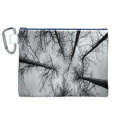 Trees Without Leaves Canvas Cosmetic Bag (XL)