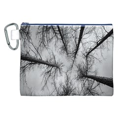 Trees Without Leaves Canvas Cosmetic Bag (xxl)