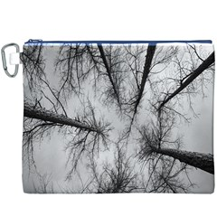 Trees Without Leaves Canvas Cosmetic Bag (XXXL)