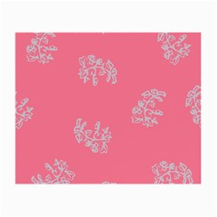 Branch Berries Seamless Red Grey Pink Small Glasses Cloth