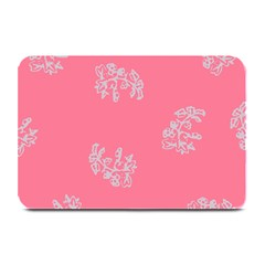Branch Berries Seamless Red Grey Pink Plate Mats