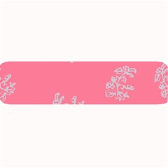 Branch Berries Seamless Red Grey Pink Large Bar Mats
