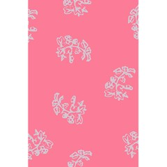 Branch Berries Seamless Red Grey Pink 5.5  x 8.5  Notebooks