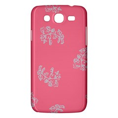 Branch Berries Seamless Red Grey Pink Samsung Galaxy Mega 5.8 I9152 Hardshell Case