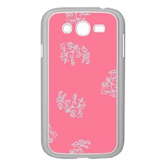 Branch Berries Seamless Red Grey Pink Samsung Galaxy Grand DUOS I9082 Case (White)