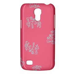 Branch Berries Seamless Red Grey Pink Galaxy S4 Mini