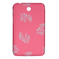 Branch Berries Seamless Red Grey Pink Samsung Galaxy Tab 3 (7 ) P3200 Hardshell Case