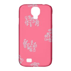 Branch Berries Seamless Red Grey Pink Samsung Galaxy S4 Classic Hardshell Case (PC+Silicone)