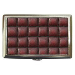 Red Cell Leather Retro Car Seat Textures Cigarette Money Cases