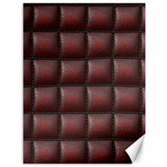 Red Cell Leather Retro Car Seat Textures Canvas 36  x 48